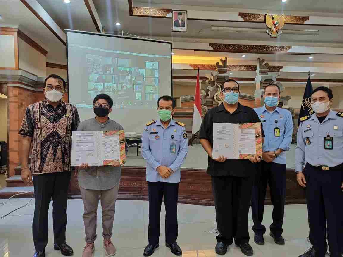 Mou Dengan Yayasan Bali Bersama Bisa Dan Yayasan Teman Baik Nusantara Kanwil Kemenkumham Bali Cetak Paralegal Bantu Kaum Disabilitas Akses Keadilan Metrobali Com